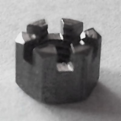 DIN 935 A4 Kronenmutter M8, BOX 100 Stück