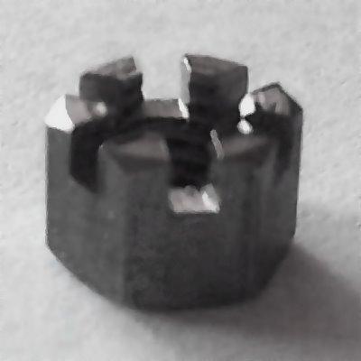 DIN 935 A4 Kronenmuttern M18, BOX 25 Stück