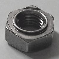 DIN 929 A2 Sechskant-Schweißmuttern  M3, BOX 1000 Stück