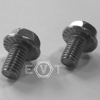DIN 6921 A2 HEXAGON BOLT flange serrated M10x40, Box 100 pcs.