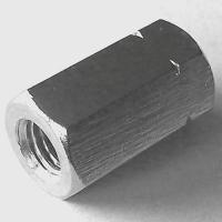 Gewindemuffe Sechskant A2 M10x30 SW17, Box 100 Stück
