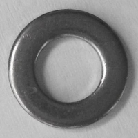 DIN 125 A2 flat washers type A Ø1,7, Box 2000 pcs.