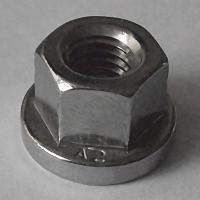 DIN 6331 A2 Sechskantmutter mit Bund M24, BOX 10 Stück