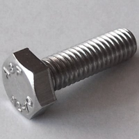 ISO 4017 / DIN 933 A2-70  M5x75, BOX 100 Stück